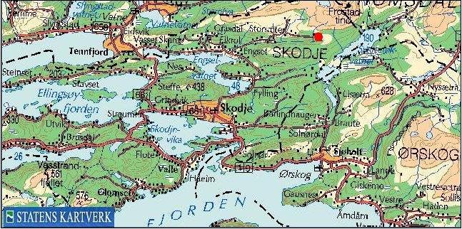 skodje kart Engesetsetra Beitelag skodje kart